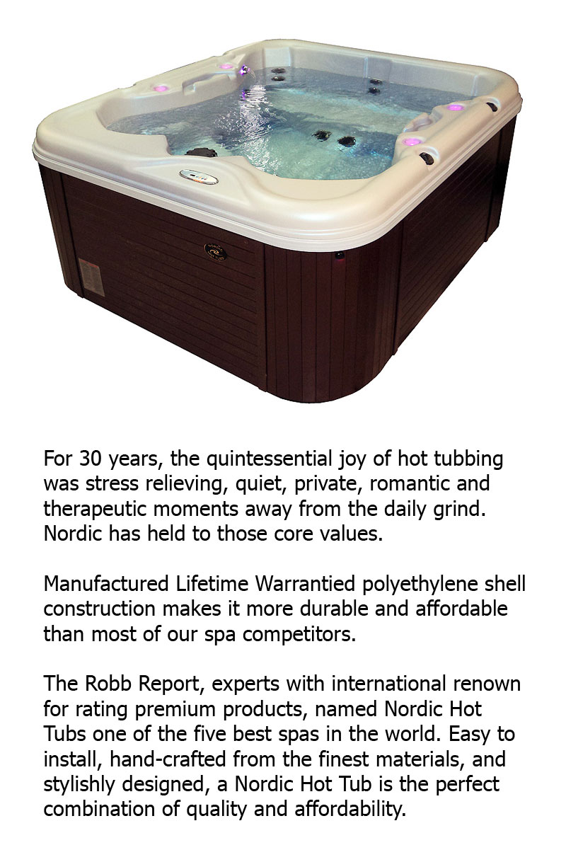 Clear Hot Tub Rating